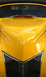 Yellow Classic Car Stock Images