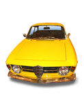 Yellow Classic Sport Car Royalty Free Stock Photo