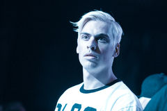 Yellow Claw live in Moscow Stock Photography