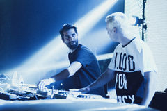 Yellow Claw live in Moscow Stock Photo