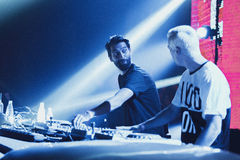 Yellow Claw live in Moscow Stock Image