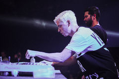 Yellow Claw live in Moscow Royalty Free Stock Photography