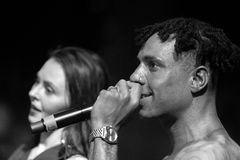 Yellow Claw live in Moscow Royalty Free Stock Photo
