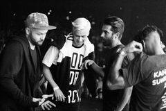 Yellow Claw live in Moscow Royalty Free Stock Photos