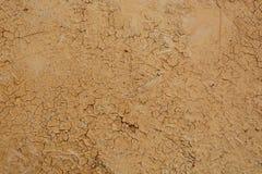 Yellow clay wall, Stock Image