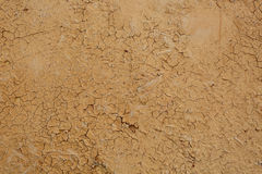Yellow clay wall, Stock Photo