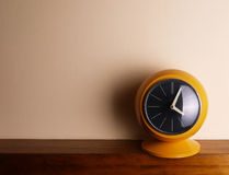 Yellow clock Stock Photos