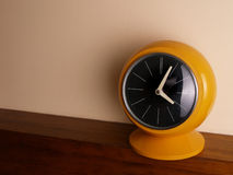 Yellow clock Royalty Free Stock Photo