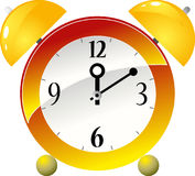 Yellow, Clock, Line, Wall Clock Royalty Free Stock Photo