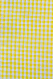 Yellow cloth Royalty Free Stock Photography