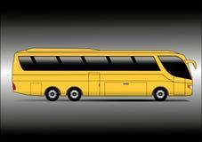 Yellow coach Stock Photos