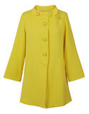 Yellow coat Stock Photos