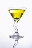 Yellow cocktail royalty free stock images