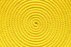 Yellow coil Royalty Free Stock Photos