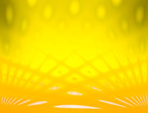 Yellow color and blur view abstract background with line effect Stock Images