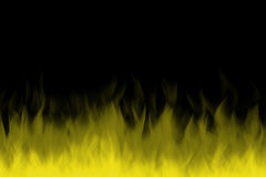 Yellow color fire Royalty Free Stock Photo