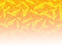 Yellow color leaf pattern background. Yellow color leaf abstract pattern background Royalty Free Stock Image