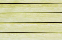 Yellow color plastic house wall. Stock Photo