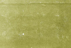 Yellow color scratched paper texture. Royalty Free Stock Photos