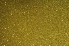 Yellow color with sparkles royalty free stock image
