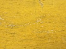 Yellow colored old wood plank texture background Royalty Free Stock Photo