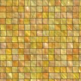 Yellow colored tile Royalty Free Stock Photography