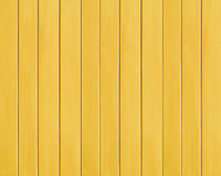 Yellow Colored Wood Plank Texture Background Stock Photography