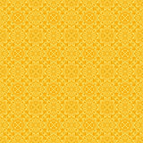Yellow Colors Flower Pattern design. Original Pattern and Symbol Stock Photos