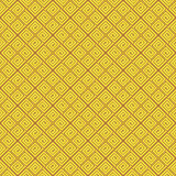 Yellow Colors Geometry Pattern. Korean traditional Pattern Desig Royalty Free Stock Photos