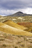 Yellow colors of the Painted Hills. Royalty Free Stock Image
