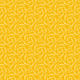 Yellow Colors Pinwheel Pattern. Korean traditional Pattern Desig Stock Photos