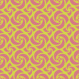 Yellow Colors pinwheel Pattern. Korean traditional Pattern Desig Stock Photography
