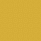 Yellow Colors Round grid Pattern. Royalty Free Stock Photography