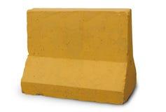 Yellow concrete block Royalty Free Stock Photo