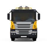 Yellow Concrete Mixer Truck Stock Images