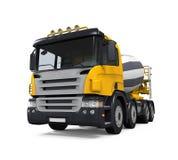 Yellow Concrete Mixer Truck Stock Photos