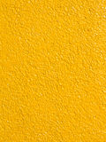 Yellow concrete wall Stock Photos