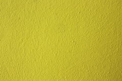 Yellow concrete wall Stock Image