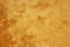 Yellow concrete wall texture Royalty Free Stock Photos