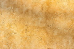 Yellow concrete wall texture background. Textere concrete yellow wall background Stock Image