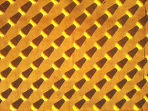 Yellow cones. With repetitive shadow Royalty Free Stock Photos