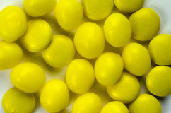 Yellow confection Royalty Free Stock Photo