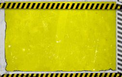 Yellow Construction Backdrop Stock Images