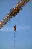 Yellow Construction crane Royalty Free Stock Photo