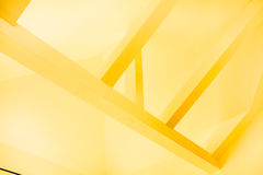 Yellow construction Stock Image
