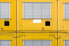 Yellow container Stock Images