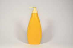 Yellow container Royalty Free Stock Photo