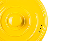 Yellow Cooking Pot III Royalty Free Stock Photo