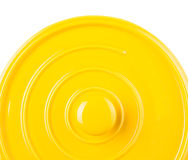 Yellow Cooking Pot VI Stock Photography