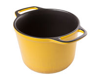 Yellow Cooking Pot VIII Stock Images